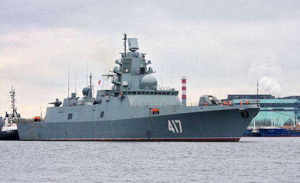 Ensimmäinen Admiral Gorshkov -luokan fregatti on tällä hetkellä testauksessa. Se on tarkoitus luovuttaa Venäjän laivastolle vielä tämän vuoden aikana.