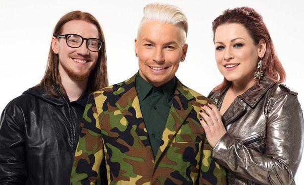 Idolsin tuomarikolmikkona nähdään Jurek, Antti Tuisku ja Erin.