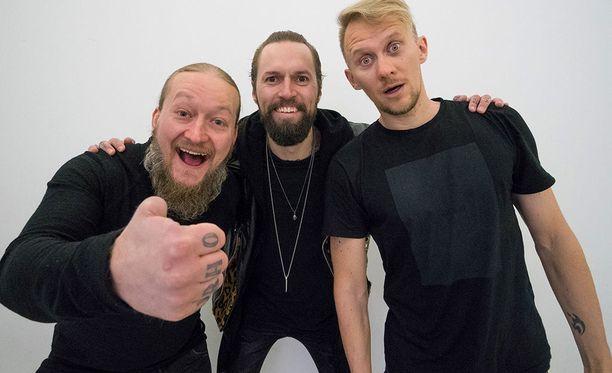 Jarppi Leppälä, HP Parviainen ja Jarno Laasala pistävät paikat hyrskyn myrskyn Duudsonit tuli taloon -ohjelman uudella tuotantokaudella.