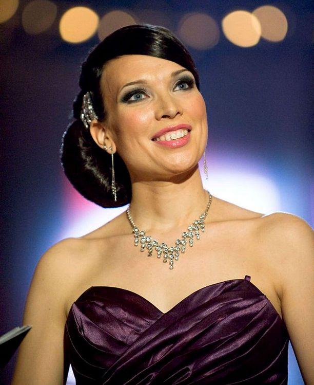 Mervi Koponen on vuoden 2011 tangokuningatar.