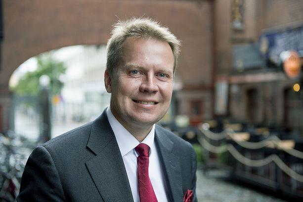 """Kokoomuksen kansanedustajan Harri Jaskarin mukaan sosiaali- ja terveysuudistuksen valinnanvapaudesta on tehty """"maailman suurin mörkö""""."""