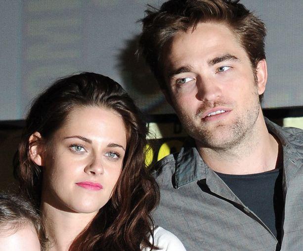 Stewart ja Pattinson tapasivat Twilight-leffan kuvauksissa.