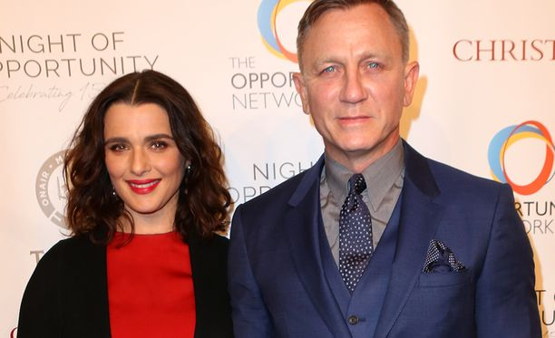 Daniel Craig, 50, ja Rachel Weisz, 48, saavat vauvan.