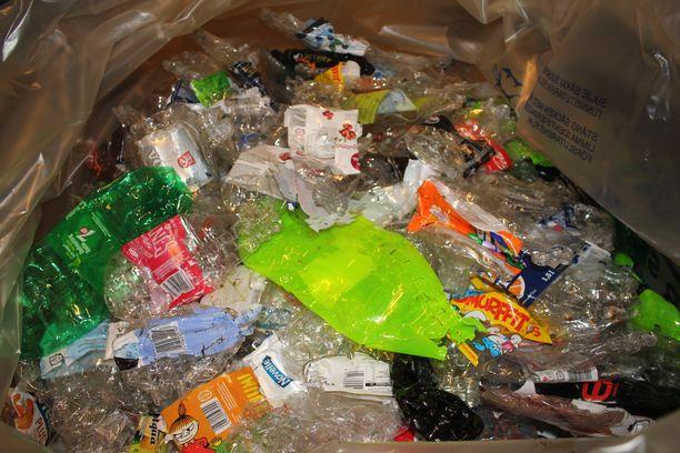 Muovipullot palautuvat takaisin 91-prosenttisesti.