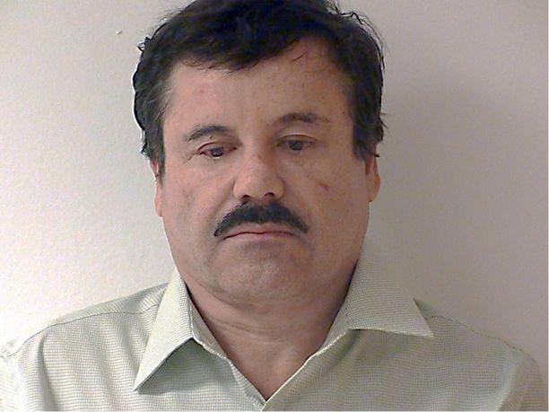 El Chapo sai pakoiltua poliisia 13 vuotta.