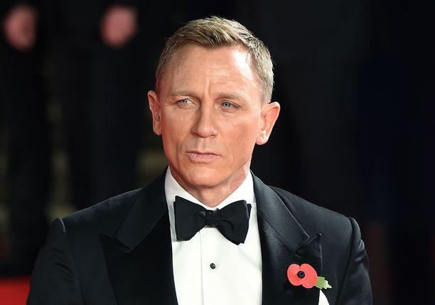 Daniel Craig on viime vuosina tähdittänyt agenttielokuvia ikonisen James Bondin roolissa.