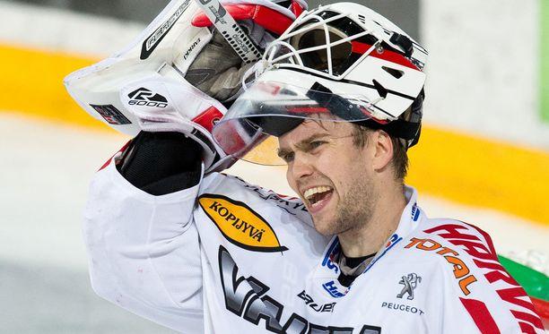 Tuomas Tarkki torjui voiton SaiPasta.