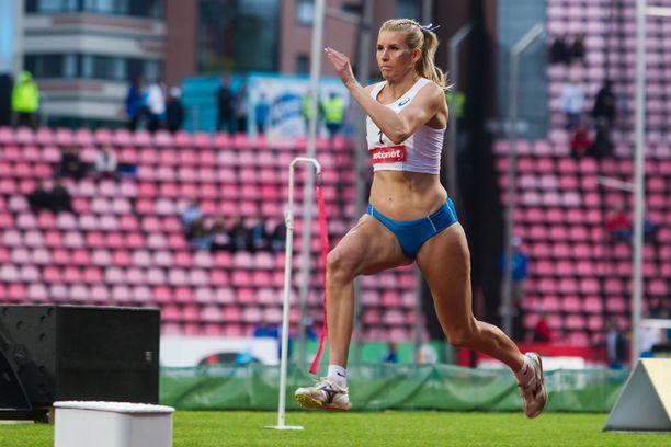 Kristiina Mäkelän tähtäin on kesän MM-kisoissa.