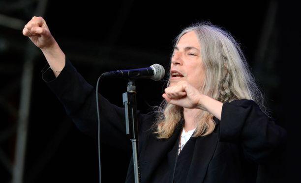Laulaja, artisti ja runoilija Patti Smith
