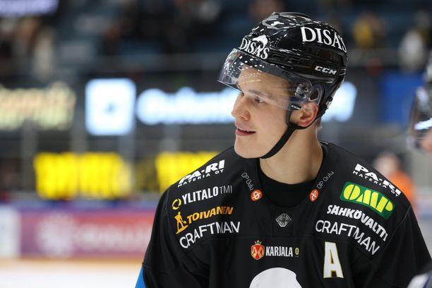 Jesse Puljujärvelle NHL-sopimus.