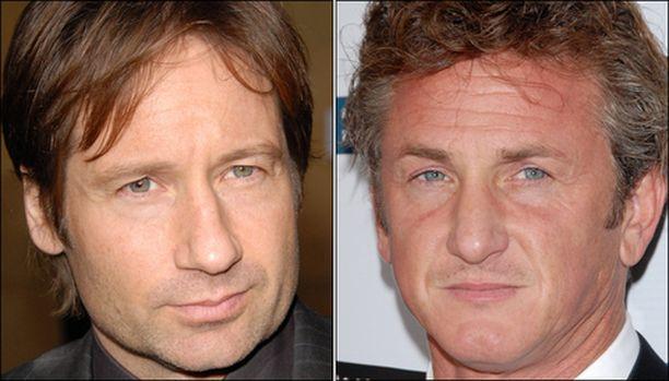 Tulipalot uhkaavat David Duchovnyn ja Sean Pennin koteja.