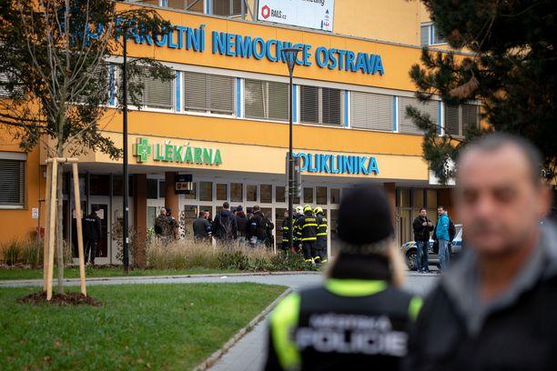 Sairaala on evakuoitu.