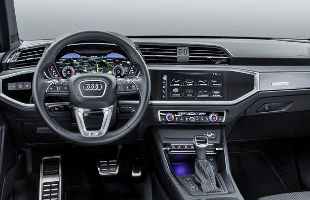 Audi on luopunut kokonaan analogisista mittareista Q3:ssa.