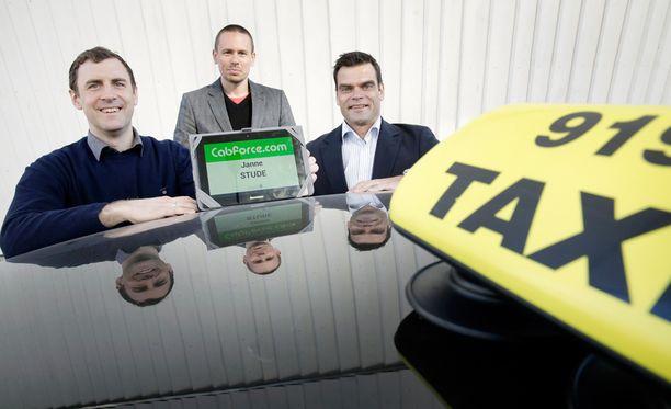 Toimitusjohtaja Andreas Hansson (oik.) uskoo yrityskaupan tarjoavan kasvumahdollisuuksia Cabforcelle.