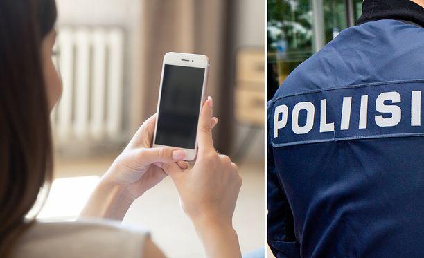 Poliisi varoittaa tilaushuijauksista. Kuvituskuva.