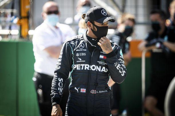 Lewis Hamiltonin lähtöasetelmat heikkenivät viime hetkillä.