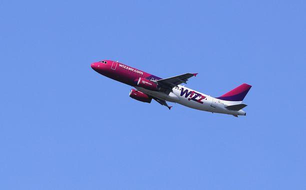 Wizz Air perui lennon yllättäen.