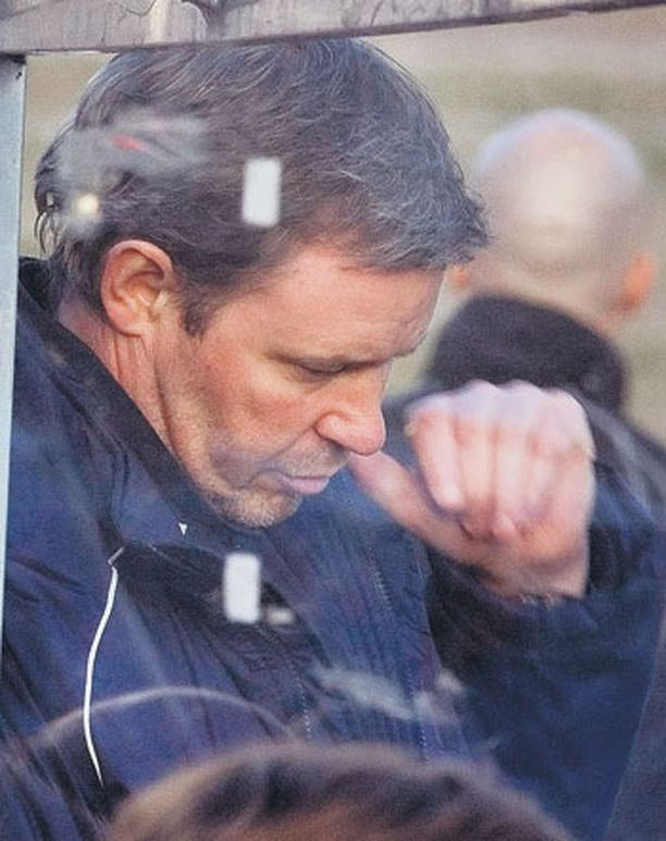 HJK:n valmentaja Keith Armstrong ei pitänyt näkemästään.