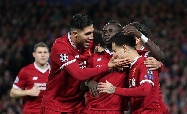 Liverpool järjesti kunnon näytöksen.