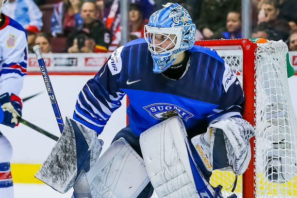 Ukko-Pekka Luukkonen oli Suomen ykkösmaalivahti nuorten MM-kisoissa.