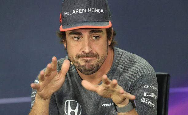 Fernando Alonson talli McLaren on pahoissa ongelmissa.