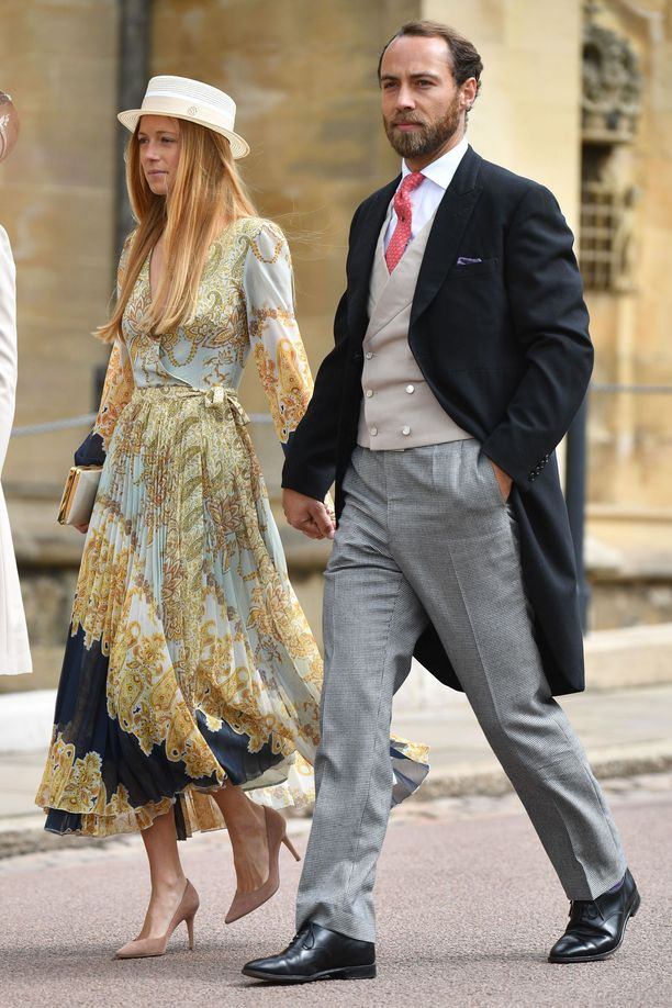 Alizee Thevenet ja James Middleton.