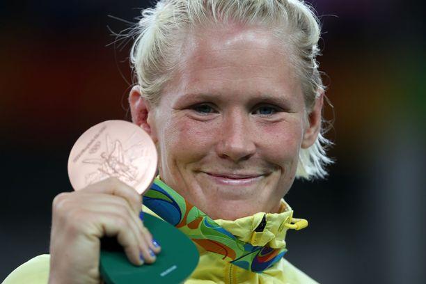 Jenny Fransson voitti pronssia Riossa 2016.