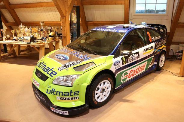 Marcus päätti MM-uransa kymmenen vuotta sitten Ford Motorsportin väreissä.