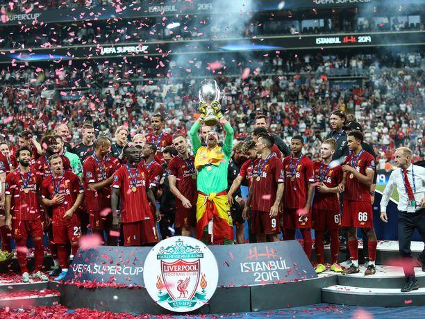 Liverpool voitti Super-cupin viime elokuussa.