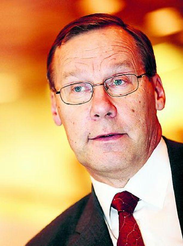 Toimitusjohtaja Risto Rinne näyttää olevan yhtä yltiöpäinen teollisuusmies kuin Neste Oy:n perustaja Uolevi Raade.