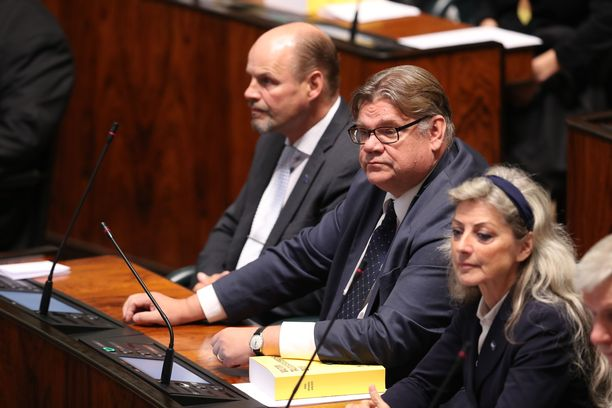 Timo Soini toimi kansanedustajana vuosina 2003-2019.