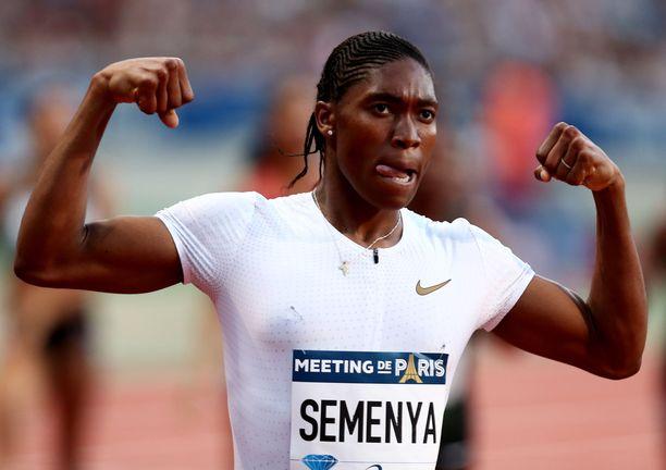 Caster Semenya on hallinnut tämän vuosikymmenen 800 metrin juoksua.