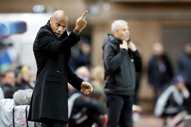 Thierry Henry palkattiin Monacon päävalmentajaksi lokakuussa, kun Leonardo Jardim oli saanut potkut.