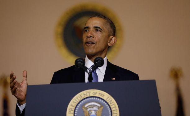 Yhdysvaltain presidentti Barack Obama piti Suomea ja Pohjoismaita hehkuttavan puheen Washingtonissa.