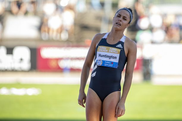 Maria Huntington jahtaa Suomen ennätystä Kalevan kisoissa.