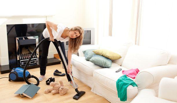 Siivouksen kanssa ei tarvitse stressata: normaali viikkosiivous riittää kihomatohoidon jälkeisenä päivänä,