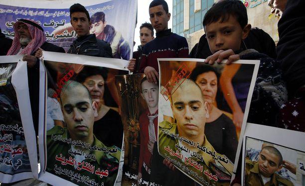 Oikeuskäsittely on herättänyt varsinkin palestiinalaisissa suuria tunteita.