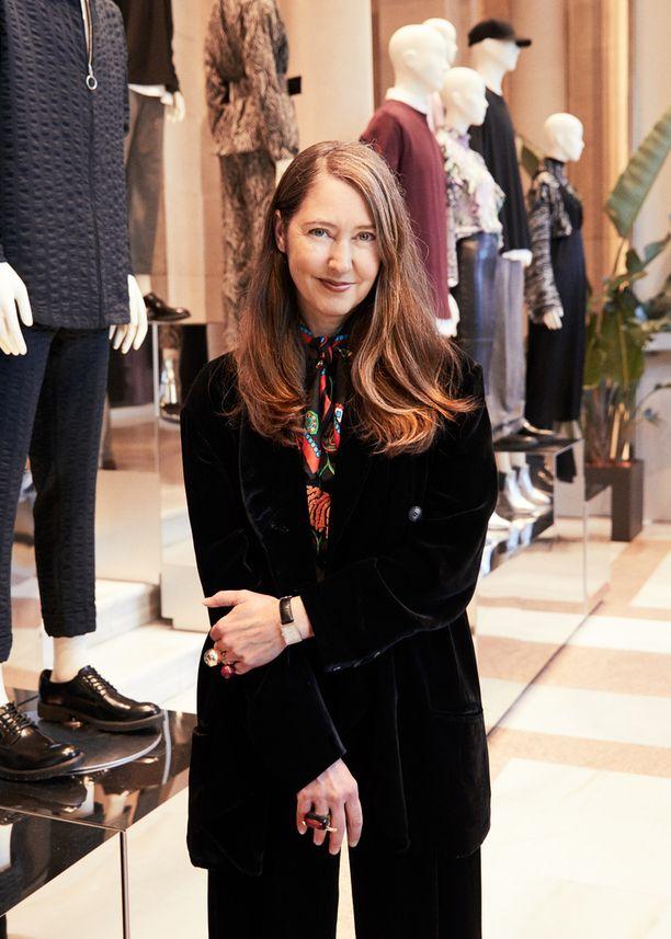 H&M:n luova neuvonantaja Ann-Sofie Johansson.