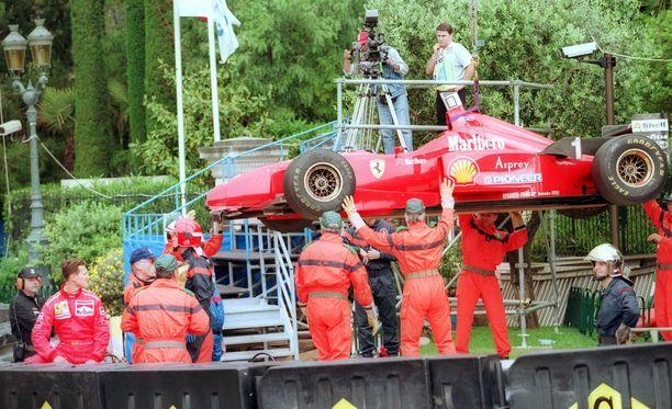 Michael Schumacherille kävi kylmät vuonna 1996 - mutta niin kävi lähes kaikille muillekin.