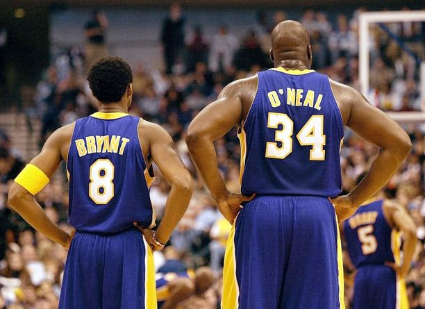 Bryant ja O'Neal olivat ikoninen NBA-kaksikko.