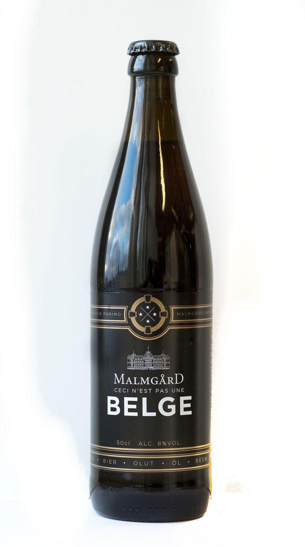 Malmgård Panimo voitti oman sarjansa. Arkistokuvassa on oluen vanha etiketti.