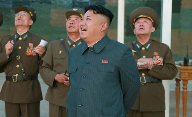 Diktaattori vieraili vastarakennetulla asuinalueella, kertoo Pohjois-Korean media. Kuva elokuulta.