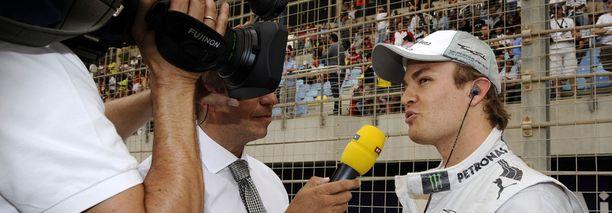 Nico Rosberg pääsee ajamaan Juan Manuel Fangion autolla.