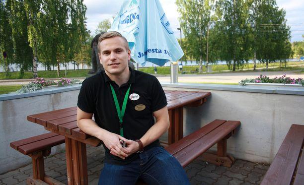 Markus Kaskinen lupaa tarjota Putinille oluen.