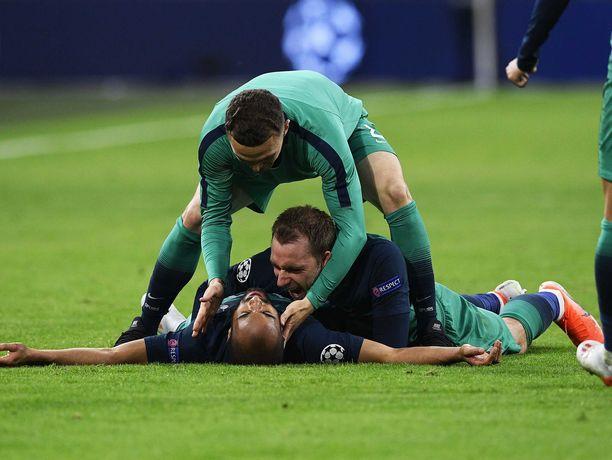 Tottenhamin sankari Lucas Moura on kasan alimmaisena.
