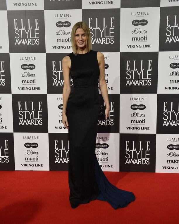 Niina Kurkinen osallistui Elle Style Awards -tapahtumaan syksyllä 2014.