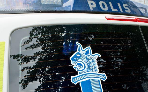 Poliisi otti pahoinpitelystä epäillyn kiinni myöhemmin lauantaina (arkistokuva).