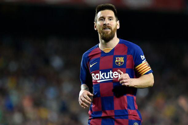 Lionel Messi ja Barcelona pelaavat Mestarien liigaa Italiassa tiistaina.