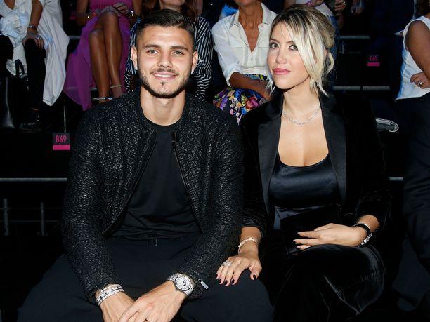 Mauro Icardi ja Wanda Nara ovat tasaisin väliajoin otsikoissa.