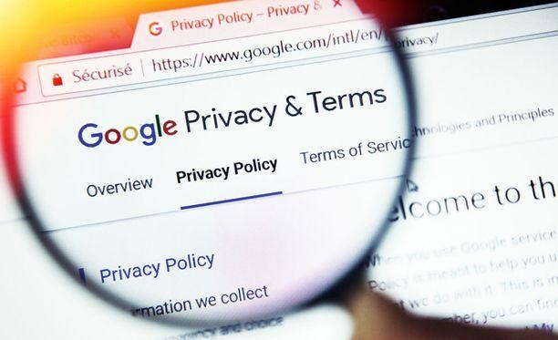Googlen sijaintitietojen kerääminen ei ole ollut käyttäjille selkeää. Kuvituskuva.